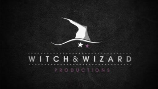 Witch wizard logo build flint studio for Logo creation wizard