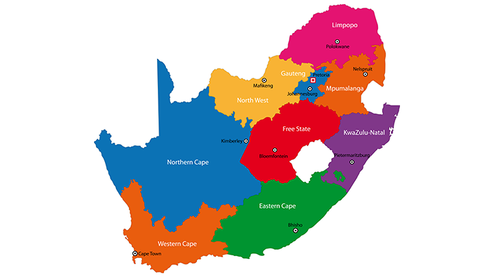 South-African-Map